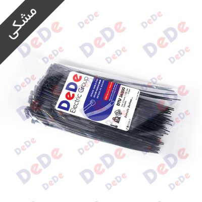 بست کمربندی پلاستیکی مشکی DTU36200