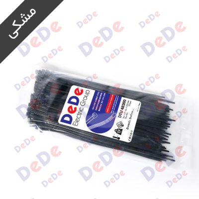 بست کمربندی پلاستیکی مشکی DTU48200