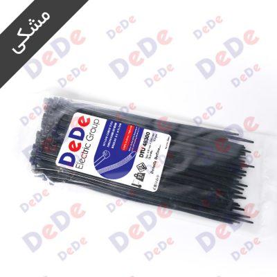 بست کمربندی پلاستیکی مشکی DTU48300